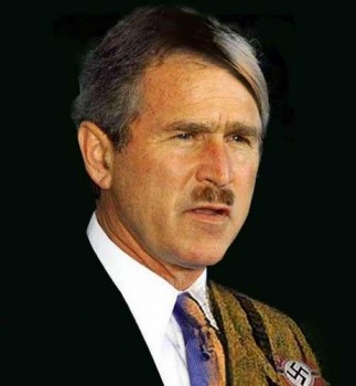 Bush Hitler lookalike-753166