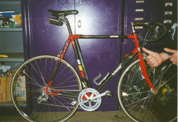 1997.Look road bike