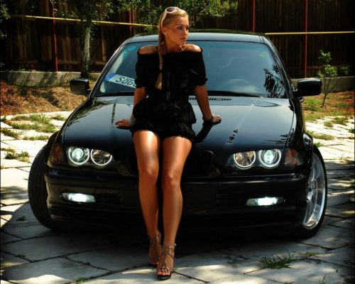 bmw-and-hot-woman-4