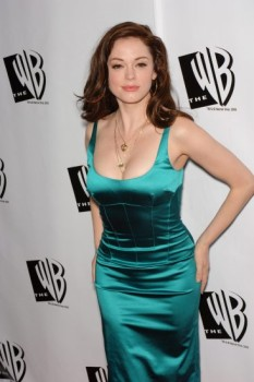 "Actress ROSE McGOWAN, star of TV series ""Charmed"", at the WB TV Network's 2005 All Star Celebration in Hollywood. July 22, 2005 Los Angeles, CA © 2005 Paul Smith / Featureflash*** USA ONLY ***"